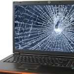 Как изглежда дисплея на лаптопа, ако е счупен?!