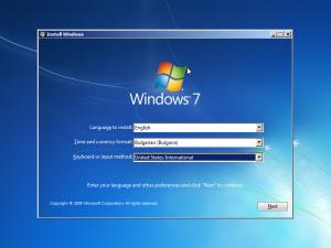 инсталиране на Windows