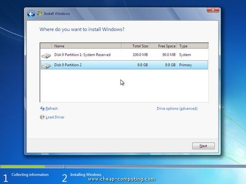 преинсталиране на лаптоп