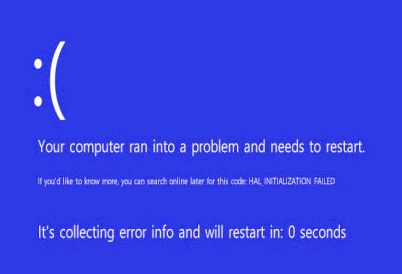 Възможни причини за постоянното рестартиране на лаптоп.