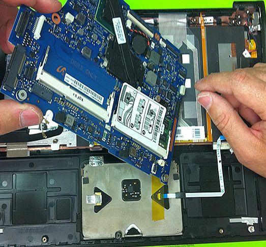 Беди за лаптопа при проблеми с микрочиповете и платката