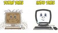 Почистване на лаптоп от прах e задължително за преносимите компютри