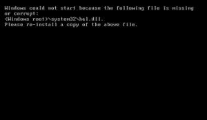 срив в зареждането на Windows XP