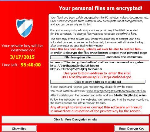 Ransomeware – вируси искащи откуп